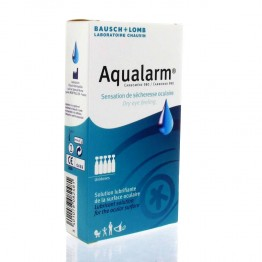 AQUALARM SOLUTION LUBRIFIANTE DE LA SURFACE OCULAIRE 20 UNIDOSES