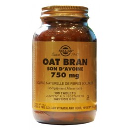 SOLGAR OAT BRAN SON D'AVOINE 750MG 100 TABLETS