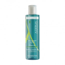 A-DERMA PHYS AC GEL MOUSSANT PURIFIANT 400ML