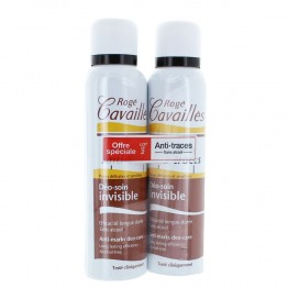 ROGE CAVAILLES DEO SOIN INVISIBLE SPRAY LOT DE 2x150 ML