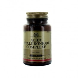 SOLGAR ACIDE HYALURONIQUE 120 MG - 30 TABLETTES