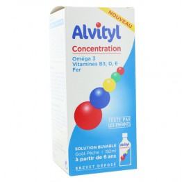 ALVITYL CONCENTRATION SIROP 150ML
