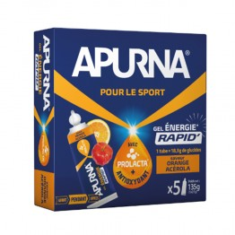 APURNA GEL ENERGIE ORANGE ACEROLA 5X27G
