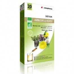 ARKOPHARMA ARKOFLUIDES DETOX 20 AMPOULES