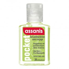 ASSANIS POCKET GEL MAIN PARFUM POMME-POIRE 20ML