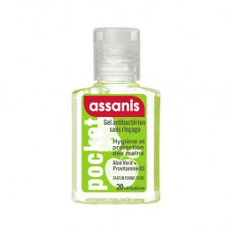 ASSANIS POCKET GEL MAIN PARFUM POMME POIRE 20 ML