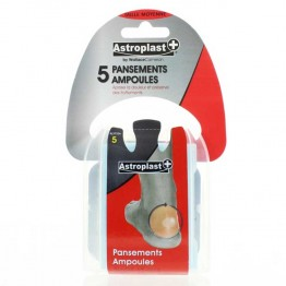 ASTRODIF ASTROPLAST PANSEMENTS HYDROCOLLOIDES AMPOULES TAILLE MOYENNE X5