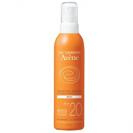 AVENE SOLAIRE SPRAY PROTECTION MODEREE SPF20 PEAUX SENSIBLES 200ML