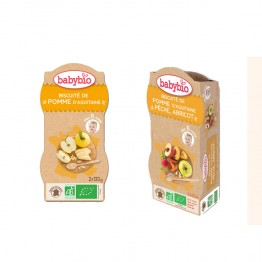BABYBIO BOL MES BISCUITES DES 6 MOIS 2X120G