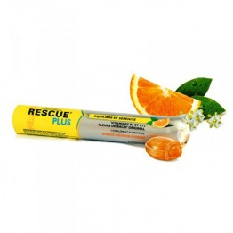 BACH RESCUE PLUS COEUR FONDANT ORANGE-SUREAU X10 PASTILLES