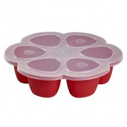 BEABA ACCESSOIRE BABYCOOK MULTIPORTIONS ROUGE 6X90ML