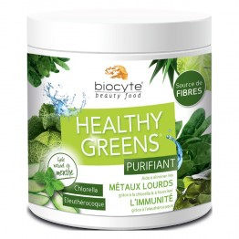 BIOCYTE HEALTHY GREENS 16 DOSES DE 13G