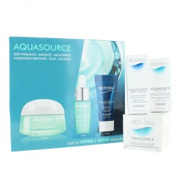 BIOTHERM COFFRET AQUASOURCE GEL 15ML