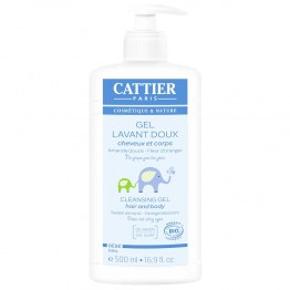 CATTIER BEBE GEL LAVANT DOUX 500ML