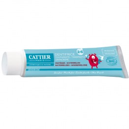 CATTIER ENFANT DENTIFRICE PASTEQUE 2-6 ANS 50ML