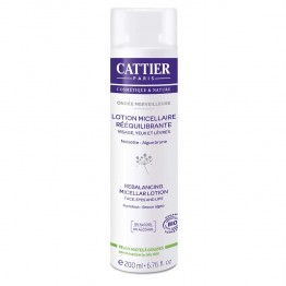 CATTIER ONDEE MERVEILLEUSE LOTION MICELLAIRE REEQUILIBRANTE BIO 200ML