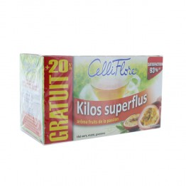 JUVAMINE CELLIFLORE THE KILOS SUPERFLUS 24 SACHETS