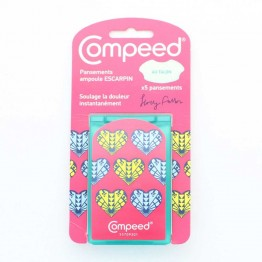 COMPEED PANSEMENTS AMPOULES TALONS X5