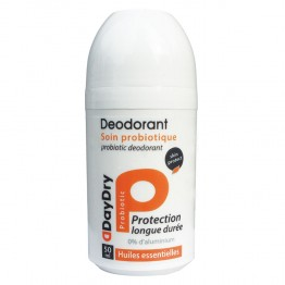 DAYDRY DEODORANT ROLL-ON SOIN PROBIOTIQUE HUILES ESSENTIELLES 50ML