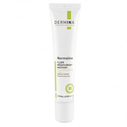 DERMINA NORMALINA FLUIDE REEQUILIBRANT MATIFIANT PEAUX MIXTES A GRASSES 40ML