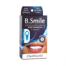 DIETWORLD B SMILE KIT NETTOYAGE DENTS BLANCHES
