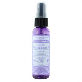 DR BRONNERS SPRAY DESINFECTANT LAVANDE POUR LES MAINS BIO 59ML