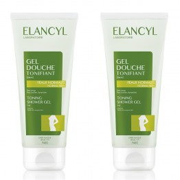 ELANCYL GEL DOUCHE TONIFIANT 2x200ML