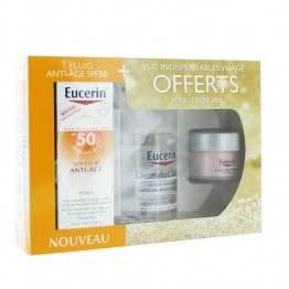 EUCERIN SUN PROTECTION COFFRET FLUIDE ANTI-AGE 50ML