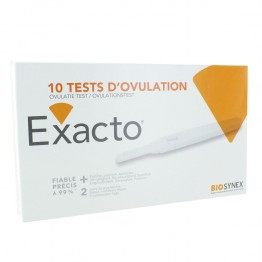 EXACTO TESTS D'OVULATION X10