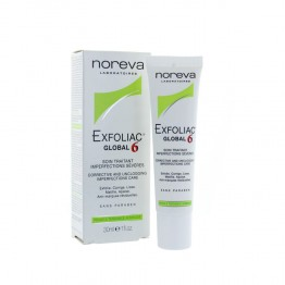NOREVA EXFOLIAC GLOBAL 6 SOIN TRAITANT IMPERFECTIONS SEVERES 30ML