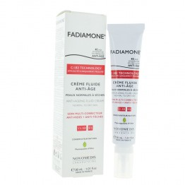 FADIAMONE CREME FLUIDE ANTI-AGE PEAUX NORMALES A SECHES 30ML