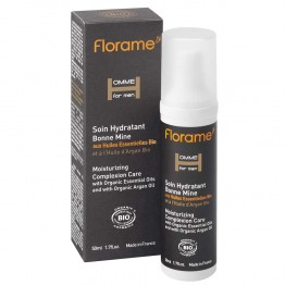 FLORAME HOMME FOR MEN SOIN HYDRATANT BONNE MINE BIO 50ML