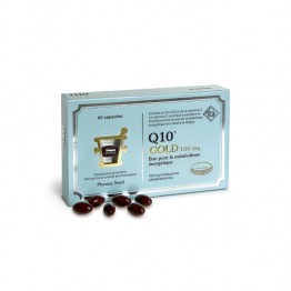 PHARMA NORD Q10 GOLD 100MG CATALYSEUR D'ENERGIE 60 CAPSULES