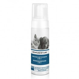 FRONTLINE PET CARE MOUSSE NETTOYANTE 2EN1 150ML