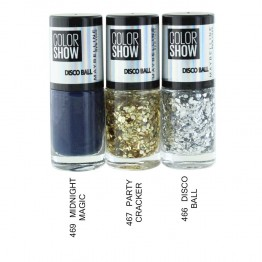 GEMEY MAYBELLINE COLORSHOW VERNIS A ONGLES COLLECTION DISCO BALL