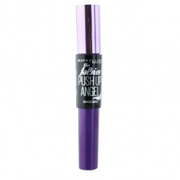 GEMEY MAYBELLINE MASCARA FAUX CILS PUSH UP ANGEL VERY BLACK