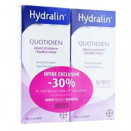 HYDRALIN QUOTIDIEN GEL LAVANT 2 x 400 ML