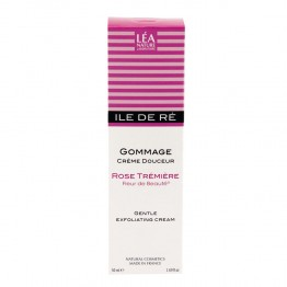 LEA NATURE ILE DE RE GOMMAGE CREME DOUCEUR ROSE TREMIERE 50 ML