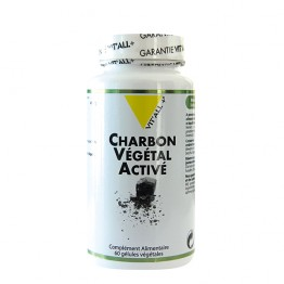 VIT'ALL+ CHARBON VEGETAL ACTIVE 400MG 60 GELULES