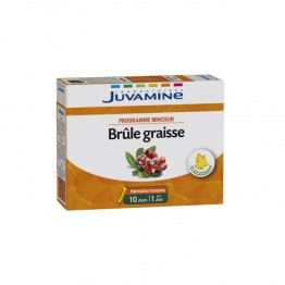 JUVAMINE BRULE GRAISSE THE VERT GUARANA 10 AMPOULES