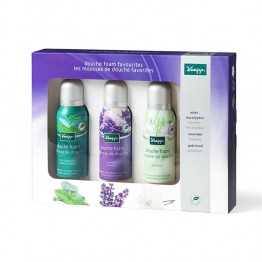 KNEIPP COFFRET MOUSSES DE DOUCHE FAVORITES 3X75ML