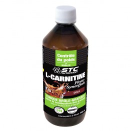 STC NUTRITION L-CARNITINE PHYTO-SYNERGISEE AU COLA LIGHT 500 ML