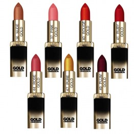 L'OREAL COLOR RICHE ROUGE A LEVRES COLLECTION GOLD OBSESSION