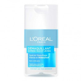 L'OREAL DEMAQUILLANT EXPRESS WATERPROOF YEUX ET LEVRES 125ML