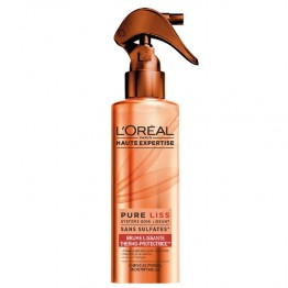 L'OREAL HAUTE EXPERTISE PURE LISS BRUME LISSANTE THERMO PROTECTRICE CHEVEUX FRISES 200ML
