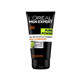 L'OREAL MEN EXPERT PURE POWER GEL NETTOYANT CHARBON 150ML