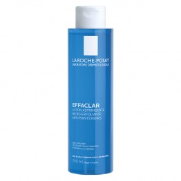 LA ROCHE-POSAY EFFACLAR LOTION ASTRINGENTE MICRO EXFOLIANTE ANTI POINTS NOIRS 200ML