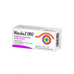 MACULA-Z ORO 60 COMPRIMES ORODISPERSIBLES