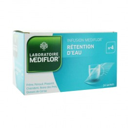 MEDIFLOR TISANE 4 RETENTION D'EAU 24 SACHETS