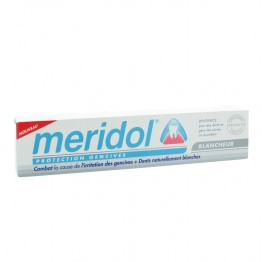 MERIDOL PROTECTION GENCIVES DENTIFRICE BLANCHEUR 75ML